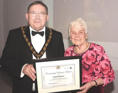 Award for Isobel Barnes, Project Founder